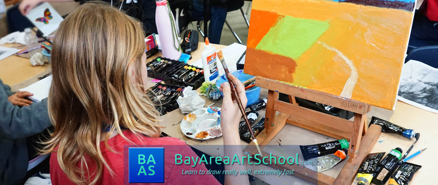 Learn to draw and paint at SF Bay Area Art School
